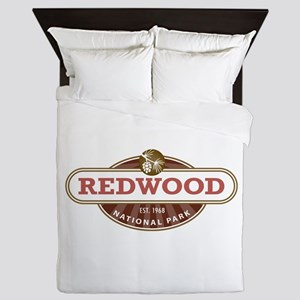 Redwood National Park Queen Duvet
